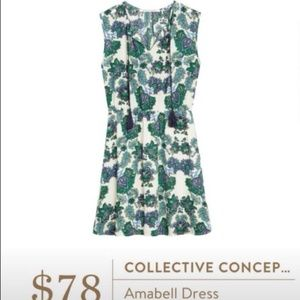 BNWT Collective Concepts Amabell Dress Large L